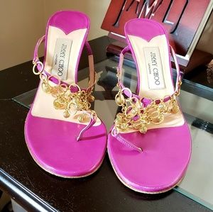 Jimmy Choo Violtet kid leather